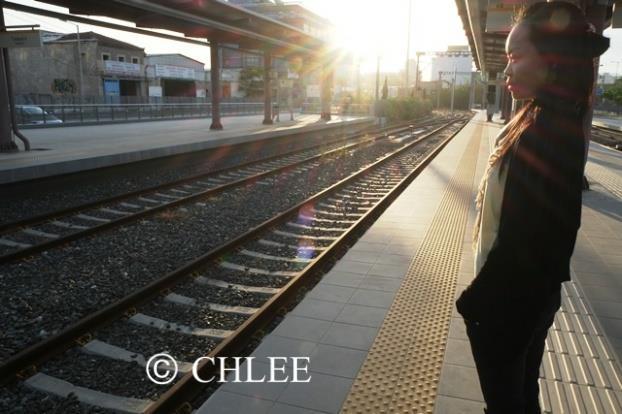 希腊的火车站。(筱林子提供)